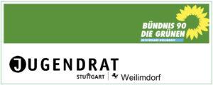 Logo Bündnis 90 / Grüne mit Jugendrat