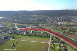 Planungsstand der SBB zu Betriebsbahnhof und U13 vorgestellt. Foto: GOEDE