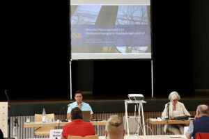 Planungsstand der SBB zu Betriebsbahnhof und U13 vorgestellt, Foto GOEDE