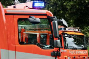 Feuerwehr Weilimdorf - ausgelöster Heimrauchmelder, Foto GOEDE