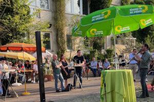 Grünen-Sommerempfang in Weilimdorf. Foto: privat