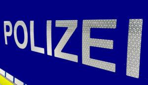 Polizei Themenbild Schriftzug