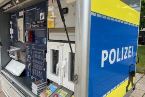 Präventionsstand der Polizei