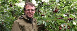 Chris Hörnle vom gleichnamigen Obsthof in Weilimdorf