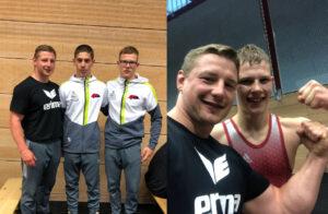 Erfolgreiche Teilnahme bei den Deutschen Meisterschaften Greco der A-Jugend. Foto: privat