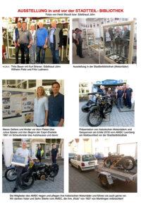 """""""Motor-Asse"""" Ausstellungen in und vor der Stadtbibliothek Weilimdorf"""