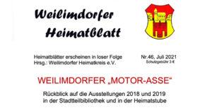 Heimatblatt 46, Cover quer