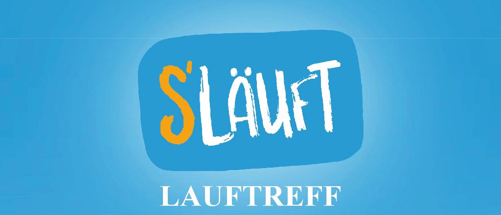 LAUFTREFF S ́LÄUFT Logo