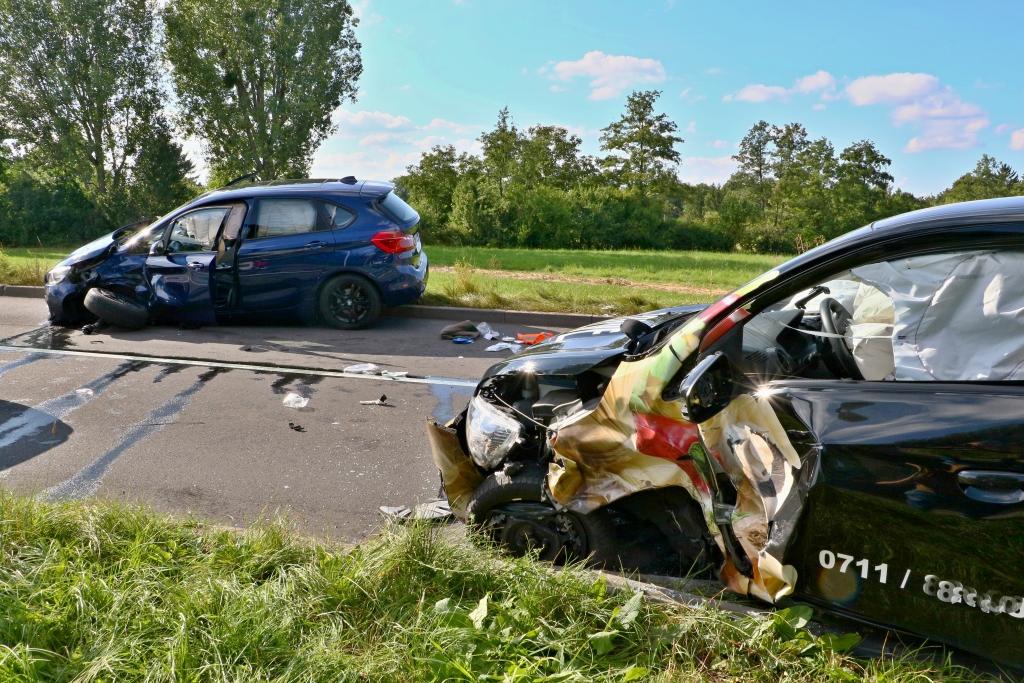 Unfall Gerlinger Straße Copyright: Andreas Rometsch