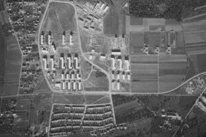 Luftbild Giebel 1955, Fundus © Weilimdorfer Heimatkreis