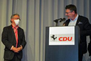 Rolf Weckerle 50 Jahre in der CDU, Foto: Heisig